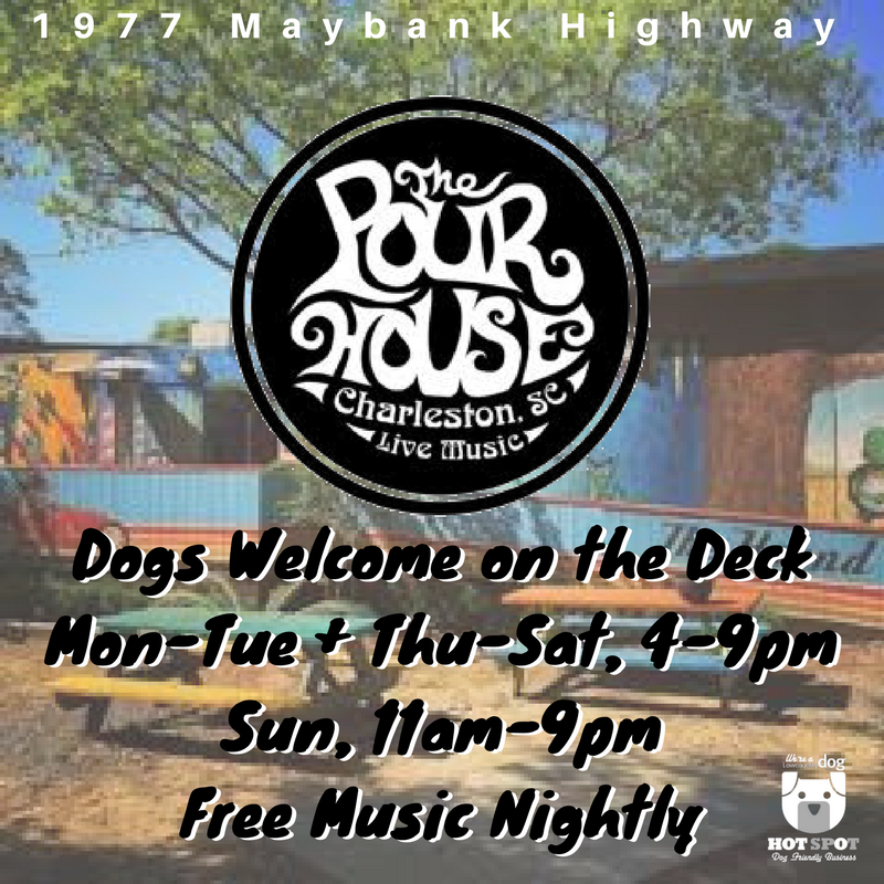 DOG FRIENDLY VENUE- 1977 Maybank Hwy