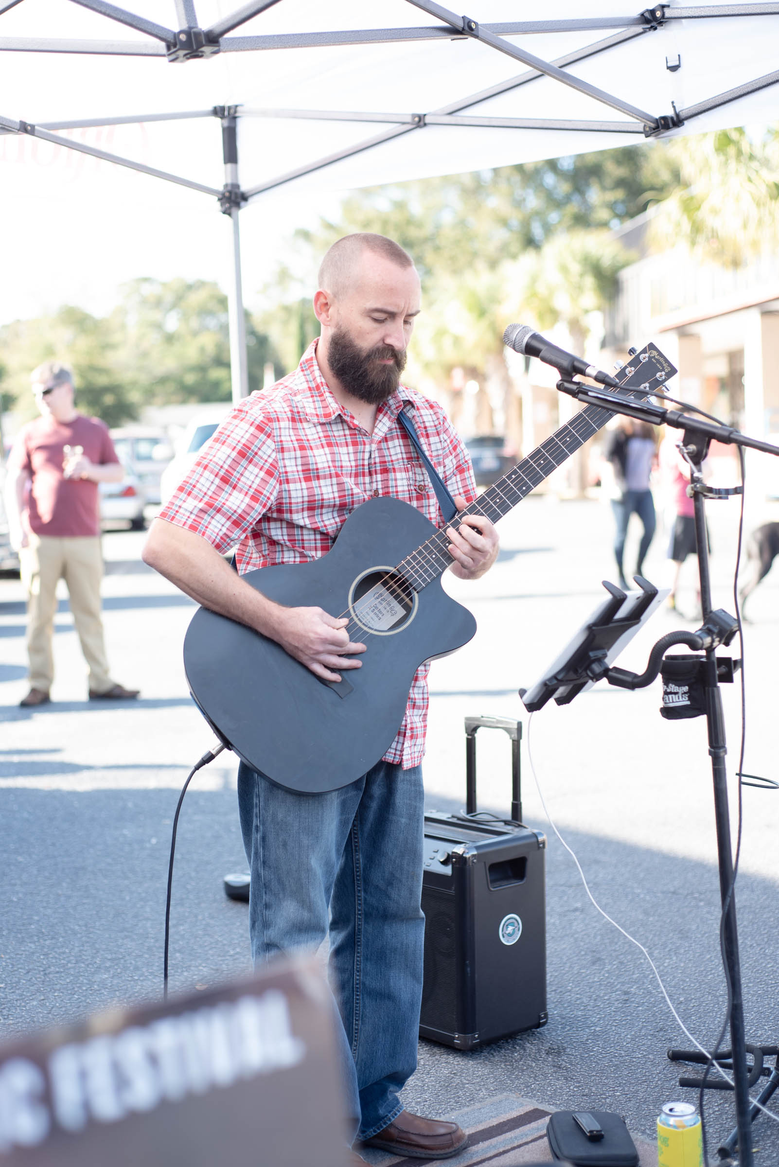 Thanks to Clint Powell for providing us with live music.