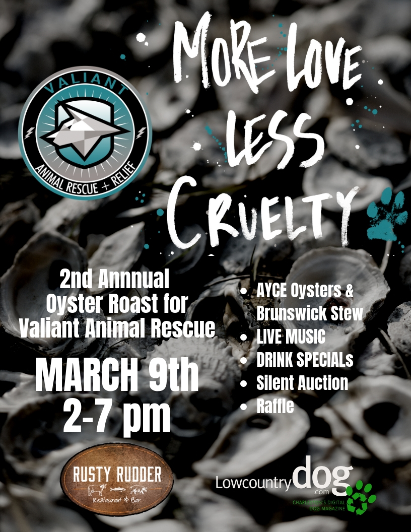 DON'T MISS VALIANT's ANNUAL FUNDRAISER MORE LOVE LESS CRUELTY