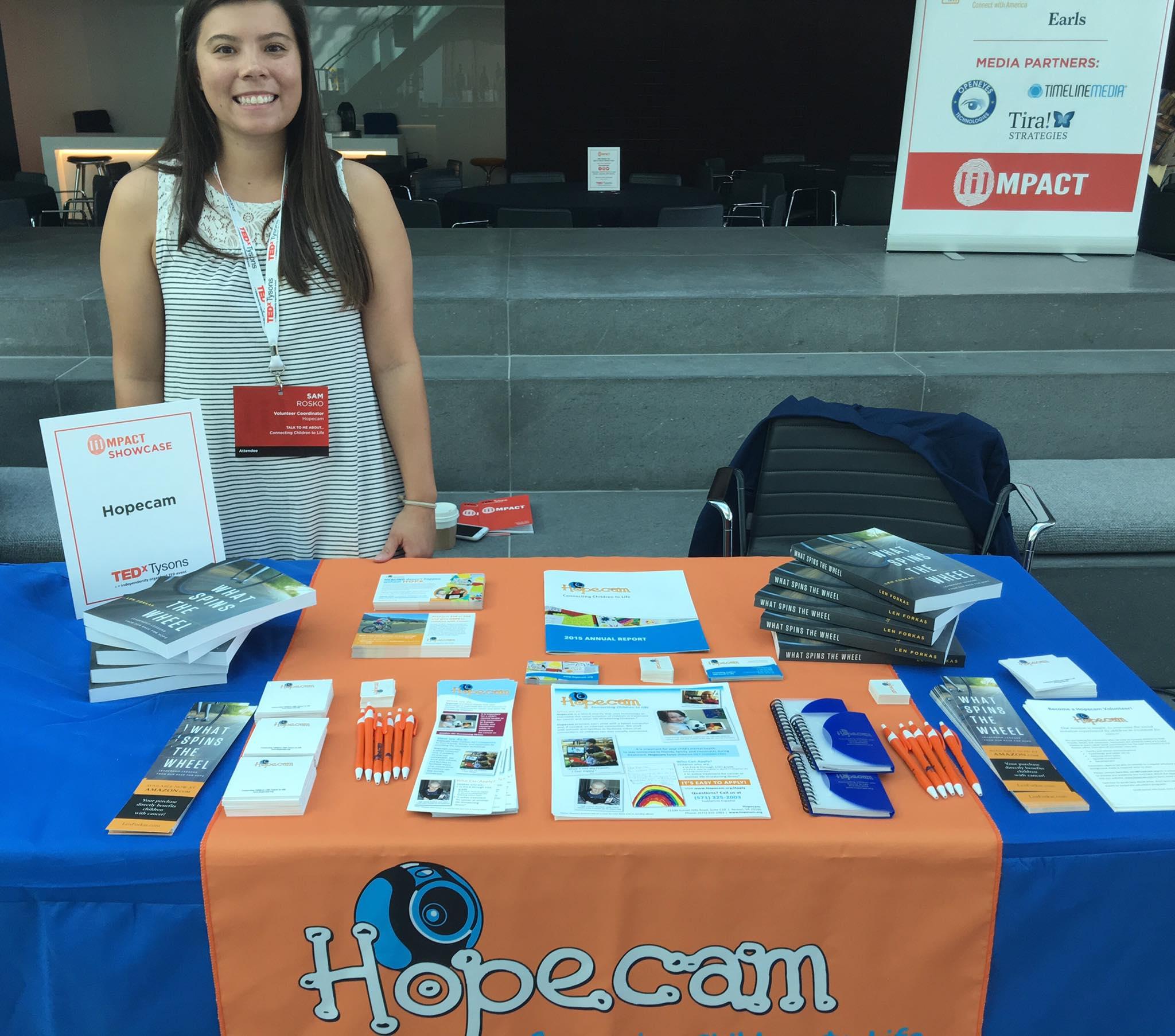 Sam Rosko - Hopecam Volunteer Coordinator