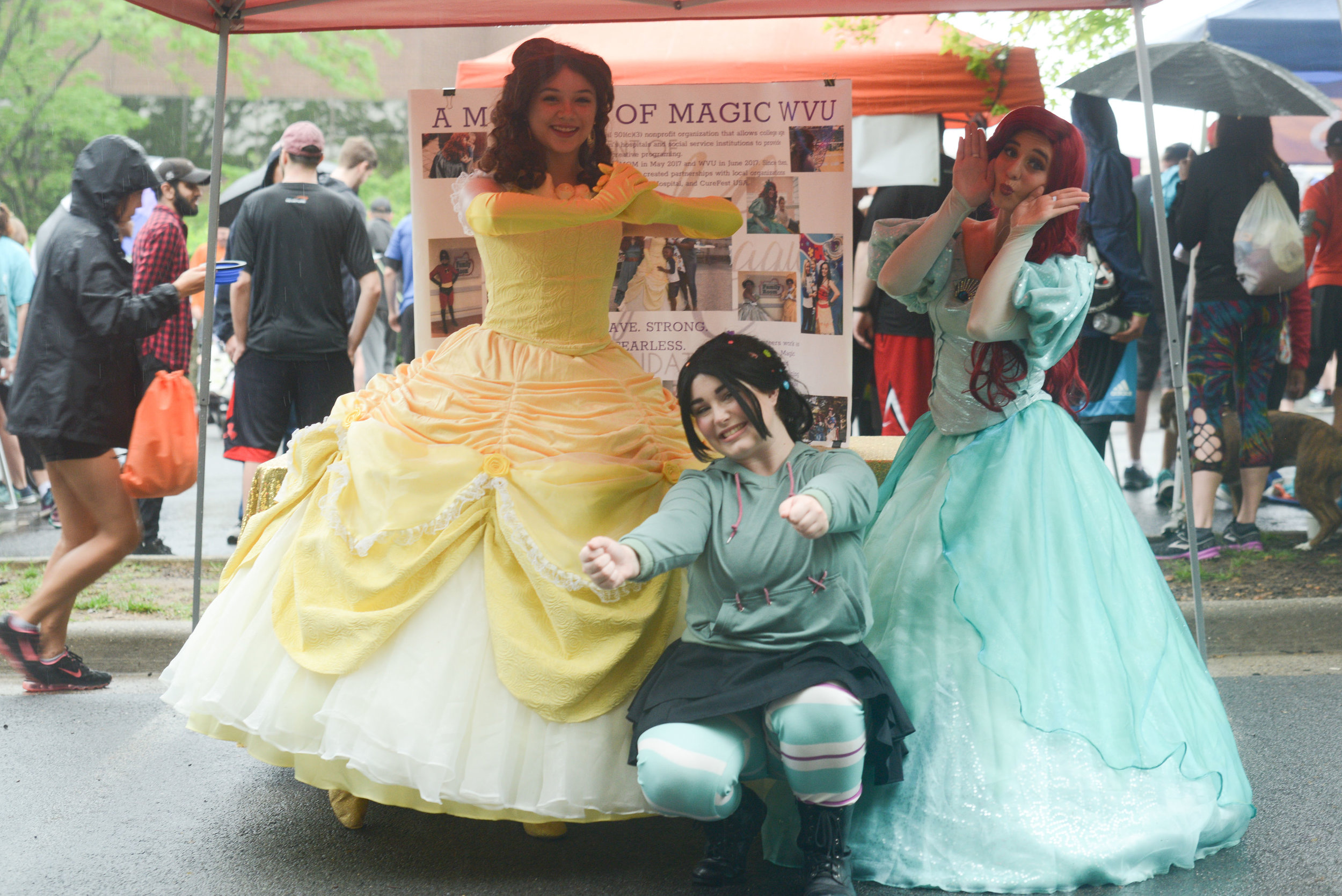 A Moment Of Magic Princesses WVU