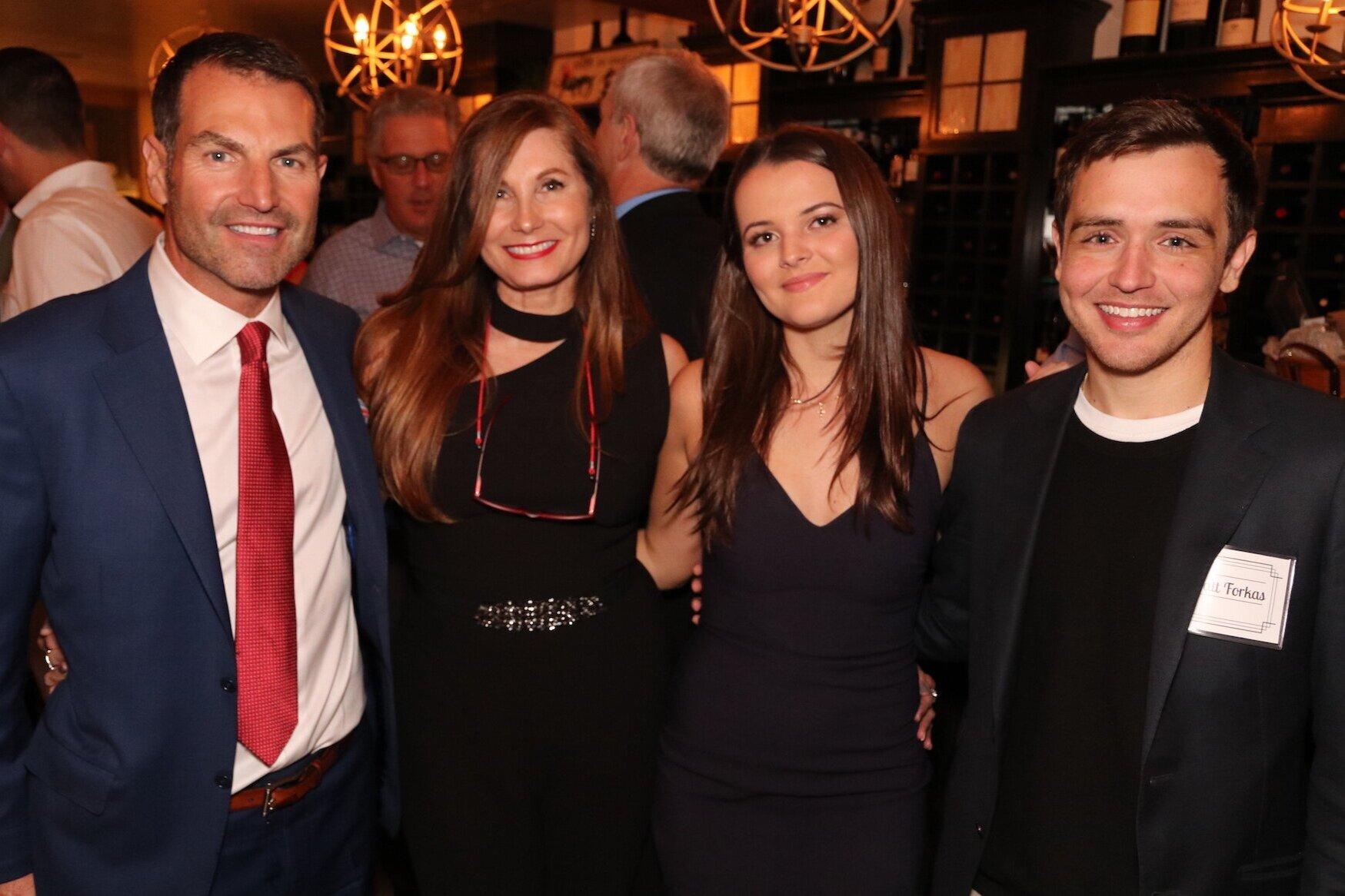 The Forkas Family: Len Forkas, Elizabeth Forkas, Viena Forkas and Matt Forkas