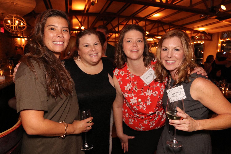 Left to Right: Sam Rosko, Brett Fox, Sara Dia and Lauren Priestas