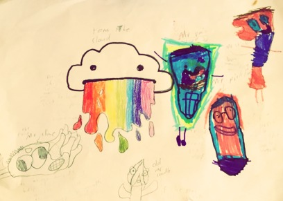 Tom Cloud & The Flying Mr. Slime  by William and Sean of Australia
