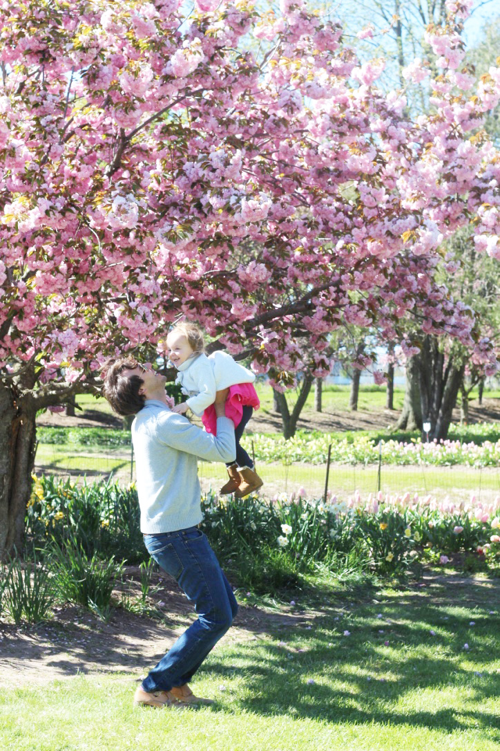 Tulip Time Festival So Dressed Up, Daddy Daughter