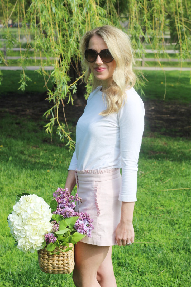 Spring Flowers, Spring Fashion So Dressed Up