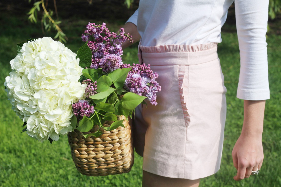 Spring Fashion So Dressed Up Hydrangeas and Lilacs