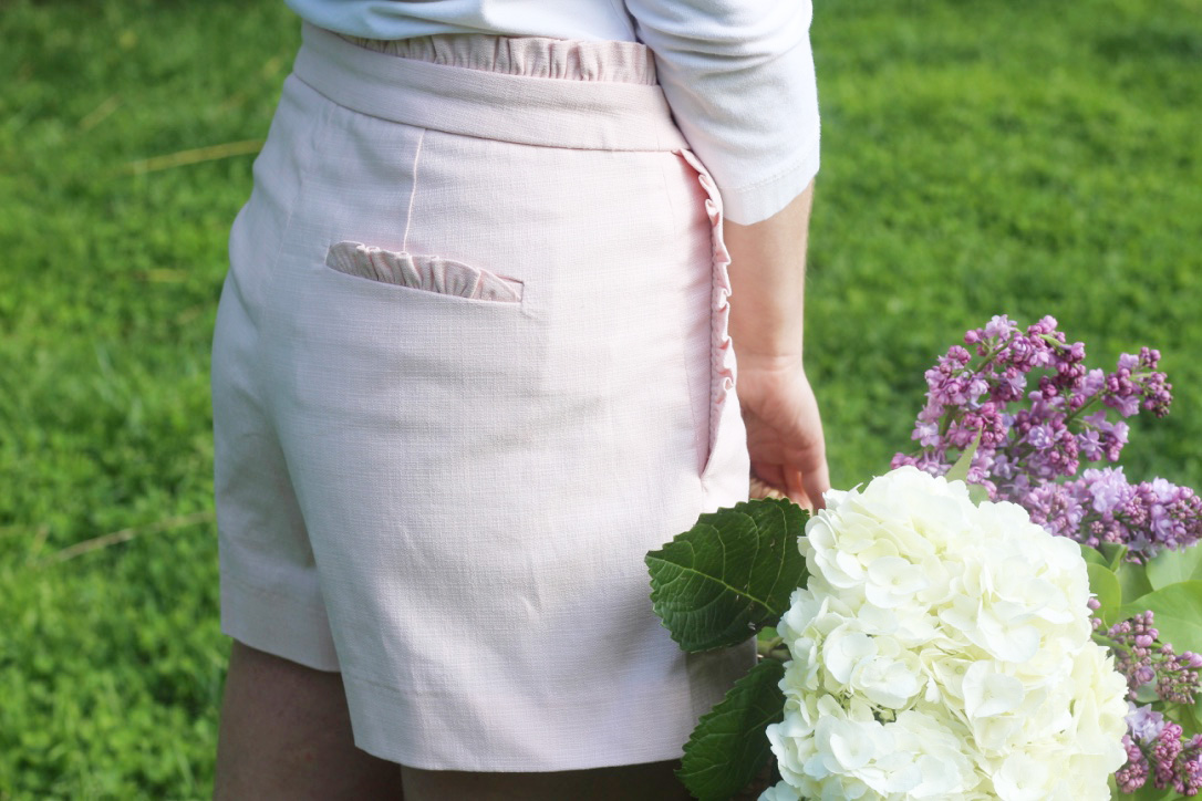 Ruffle Shorts, Spring Fashion So Dressed Up