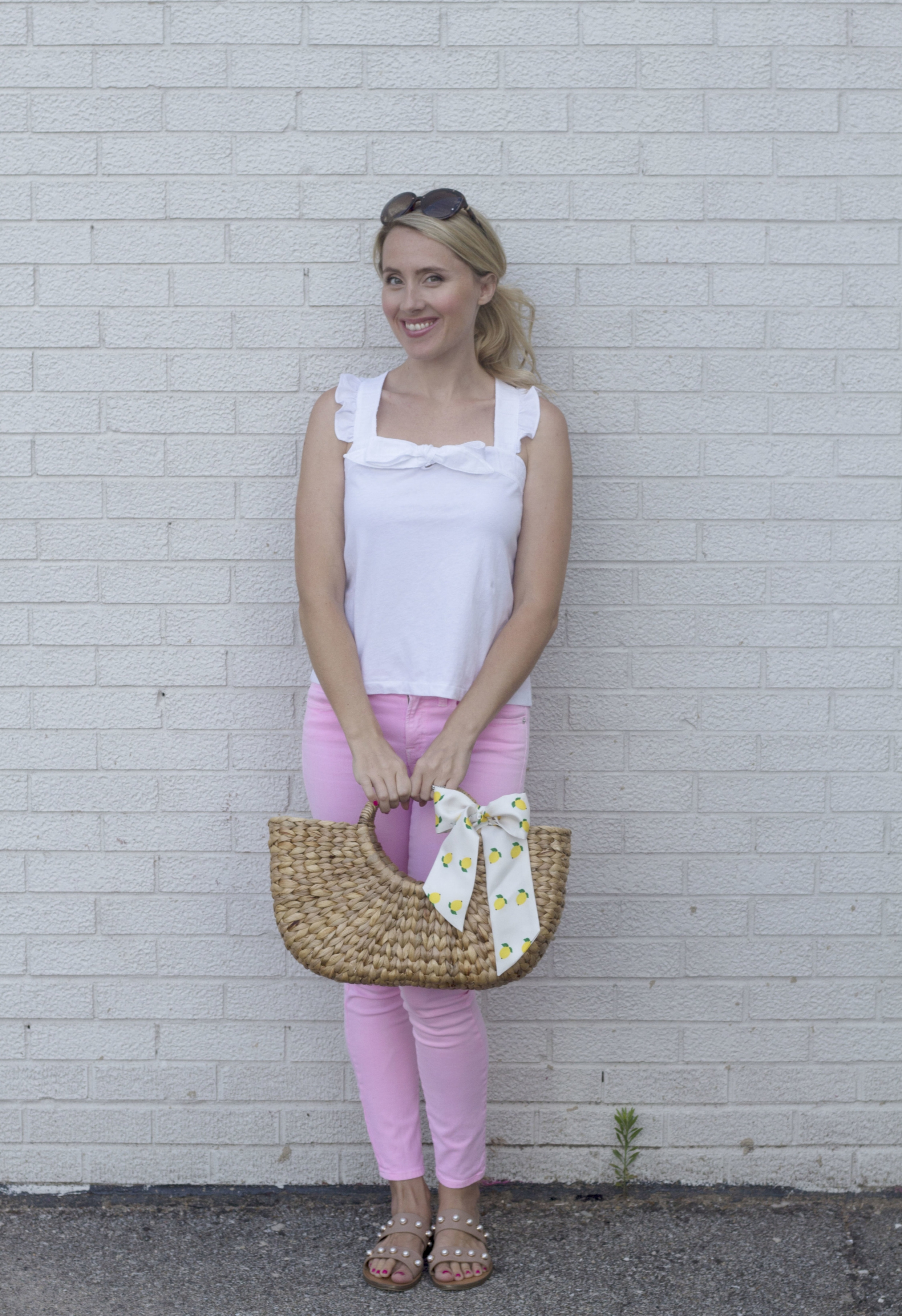 Pink Jeans 3 ways, casual, So Dressed Up