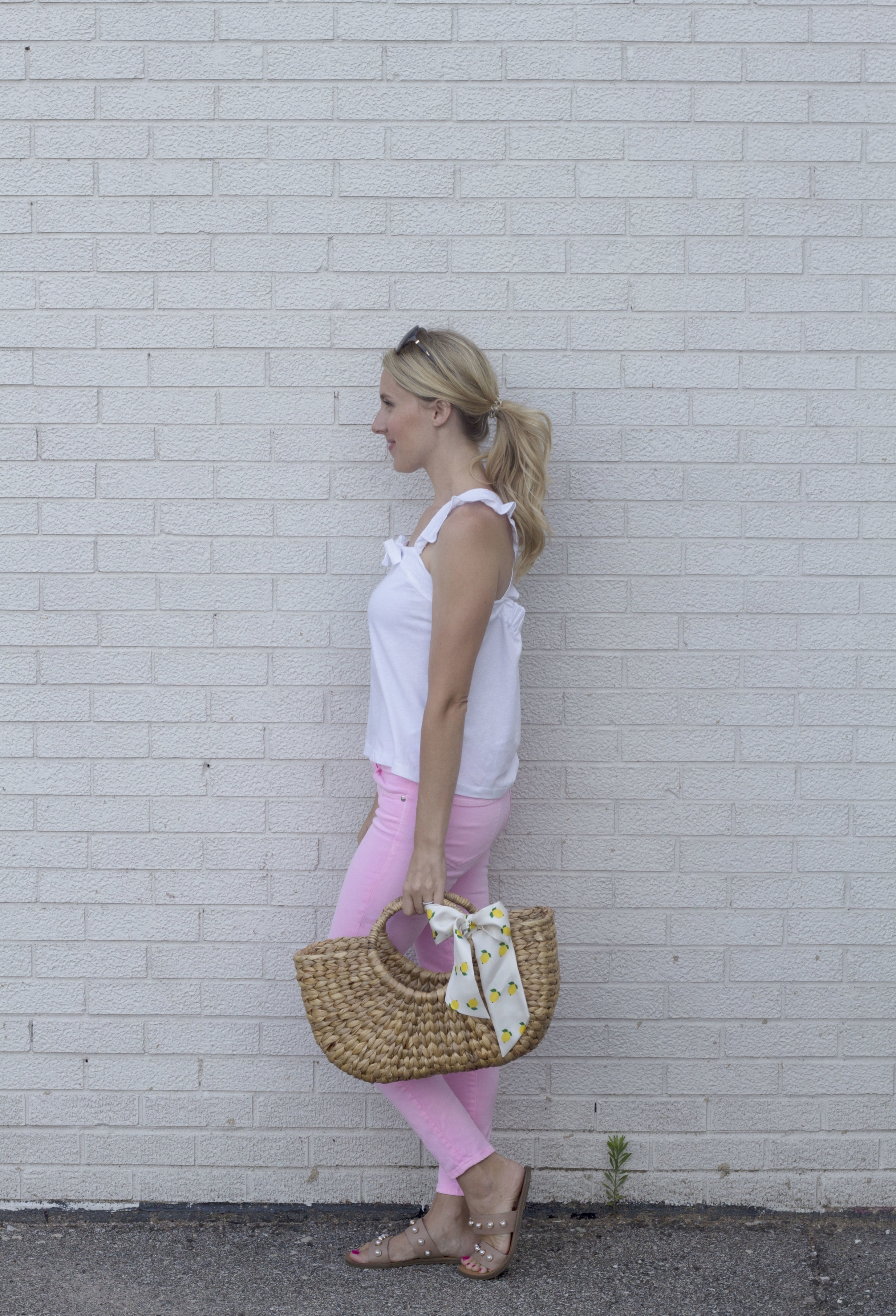 Pink Jeans 3 ways, Brunch look, So Dressed Up