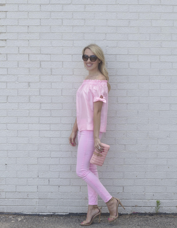 Pink Jeans 3 ways, dressy look, So Dressed Up