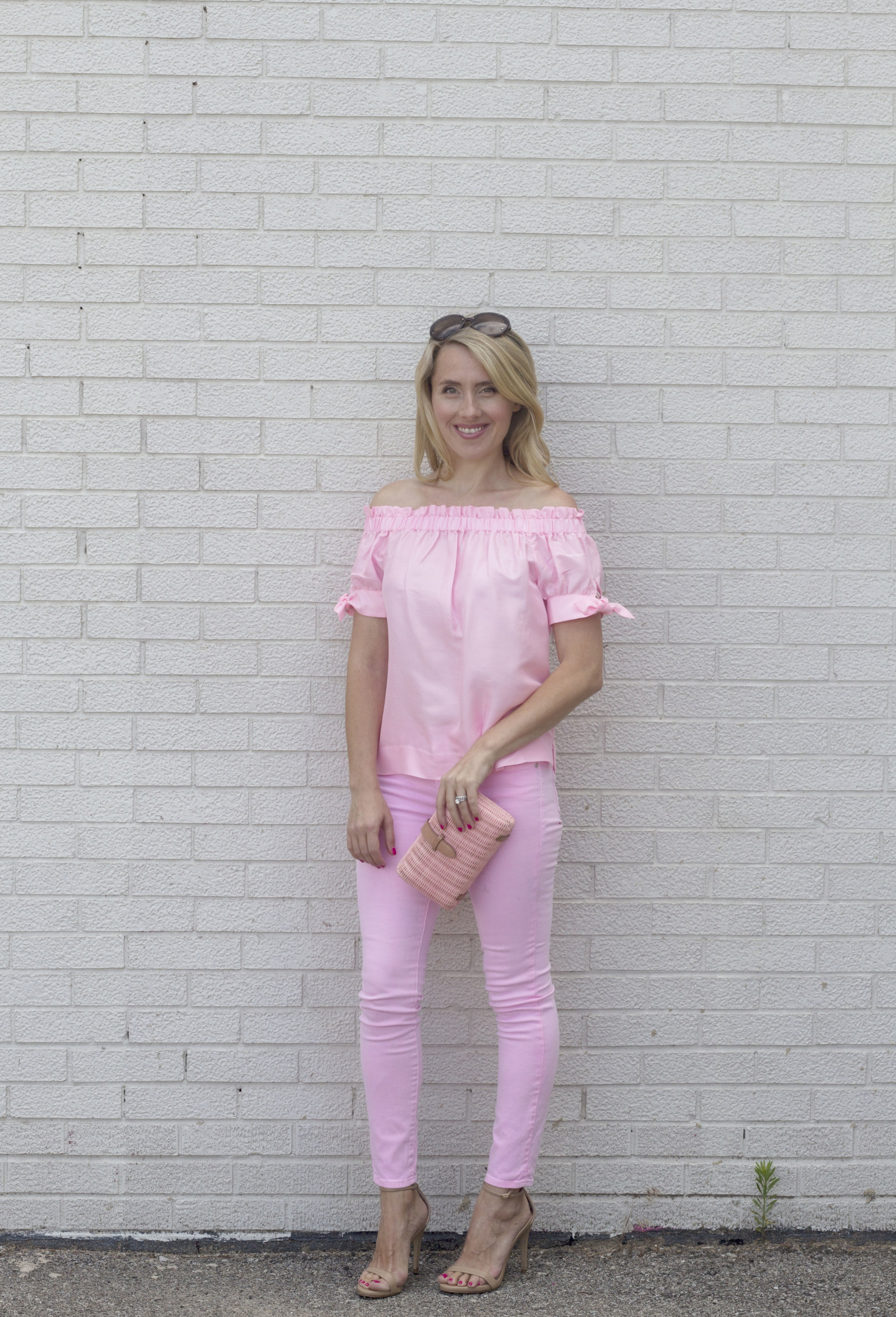 Pink Jeans 3 ways, dressy look, J. Crew, So Dressed Up