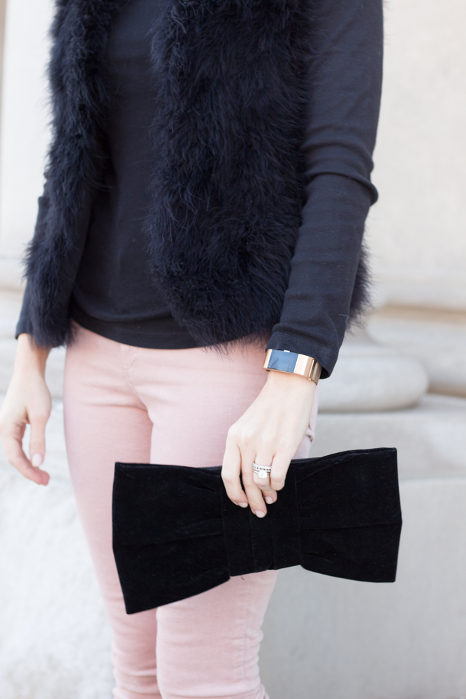 So Dressed Up Pink and Black Outfit (1 of 15).jpg