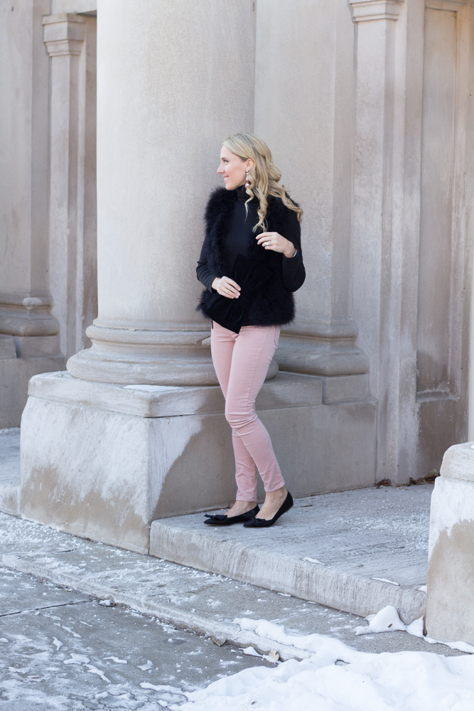 So Dressed Up Pink and Black Outfit (10 of 15).jpg