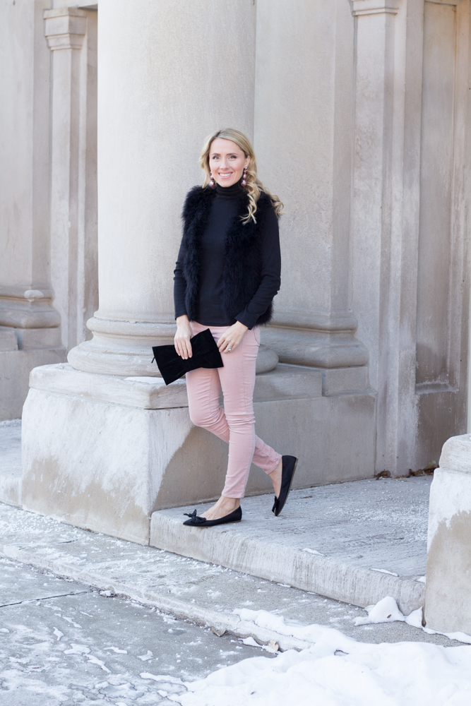 So Dressed Up Pink and Black Outfit (11 of 15).jpg