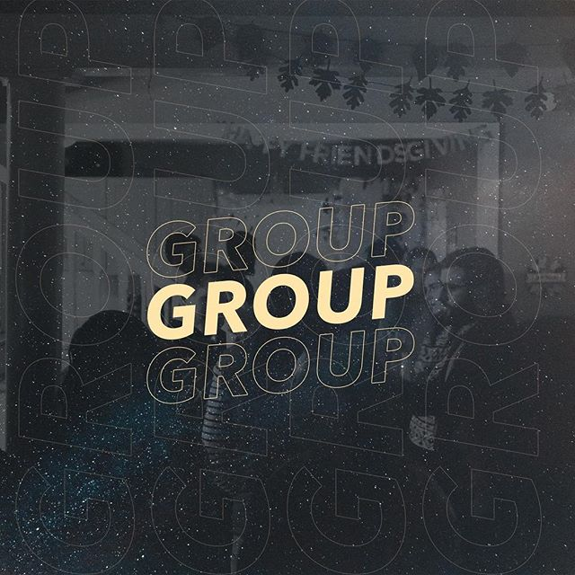 In case you forgot, we meet in small groups every Tuesday! DM if you are looking to get plugged in.