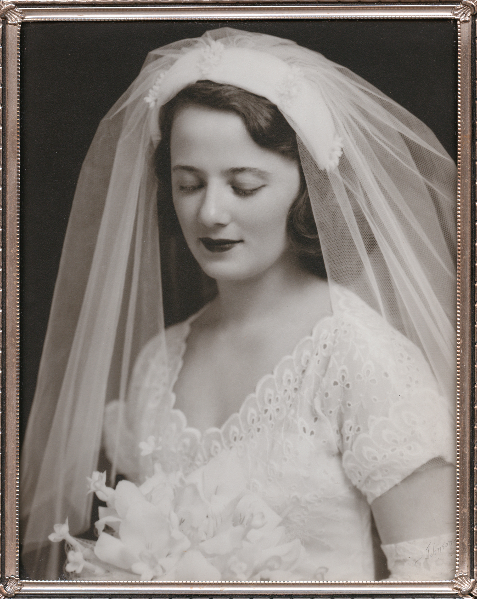 My favorite photo of my Grandma on my dad's side is her bridal portrait. My personal project  A Day at the Lake  is about where she grew up.