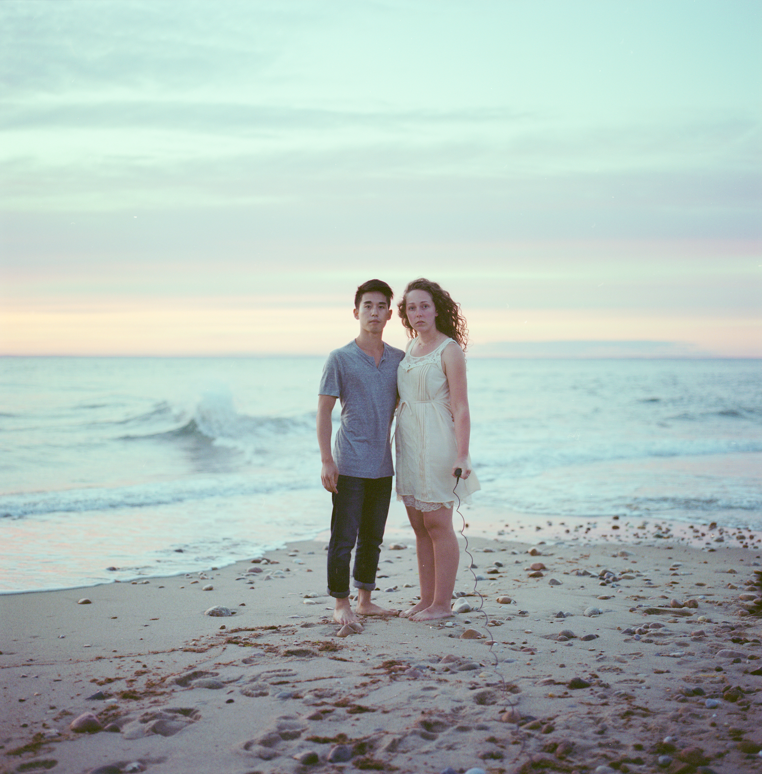 Yuta & I at the northern tip of Block Island, RI- my favorite place in the world. (So far!)