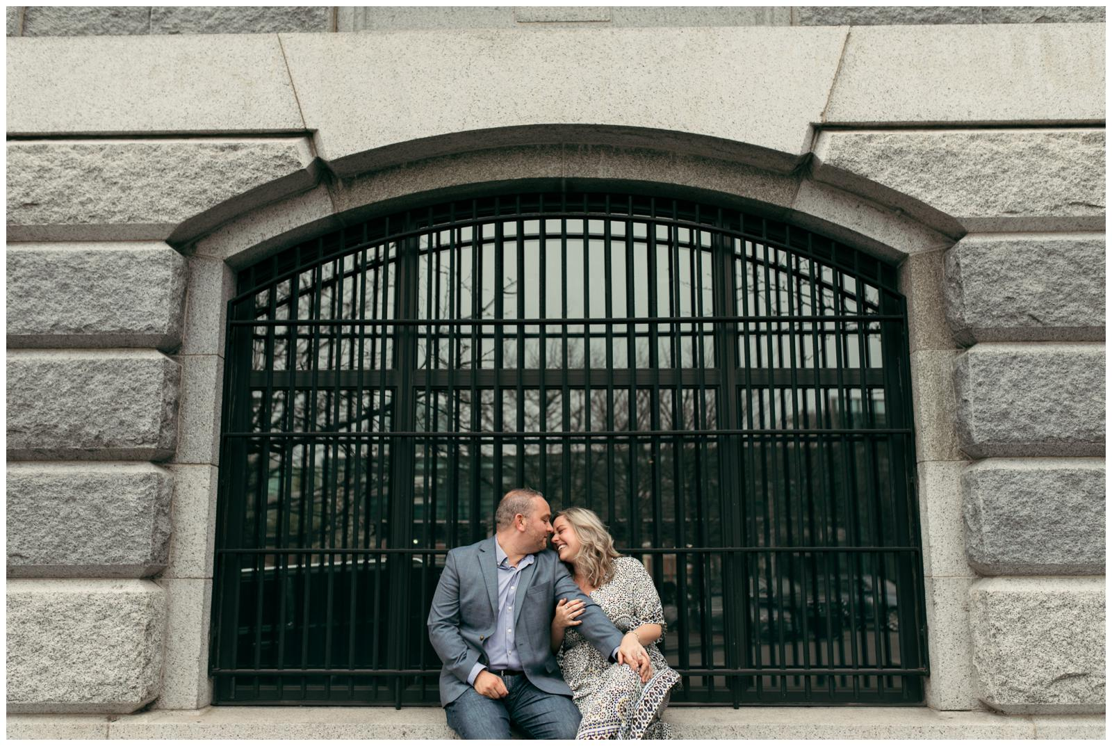 Liberty Hotel engagement photos