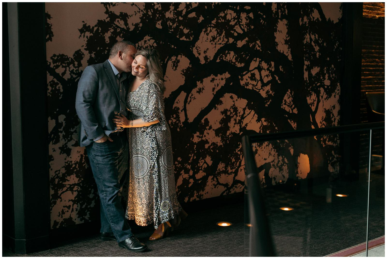 Indoor engagement photo ideas Boston