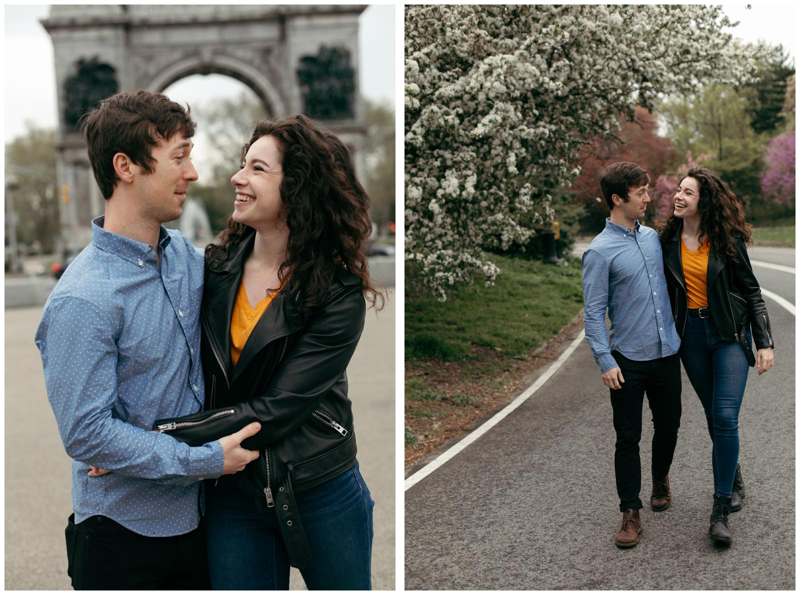 Brooklyn couple's session