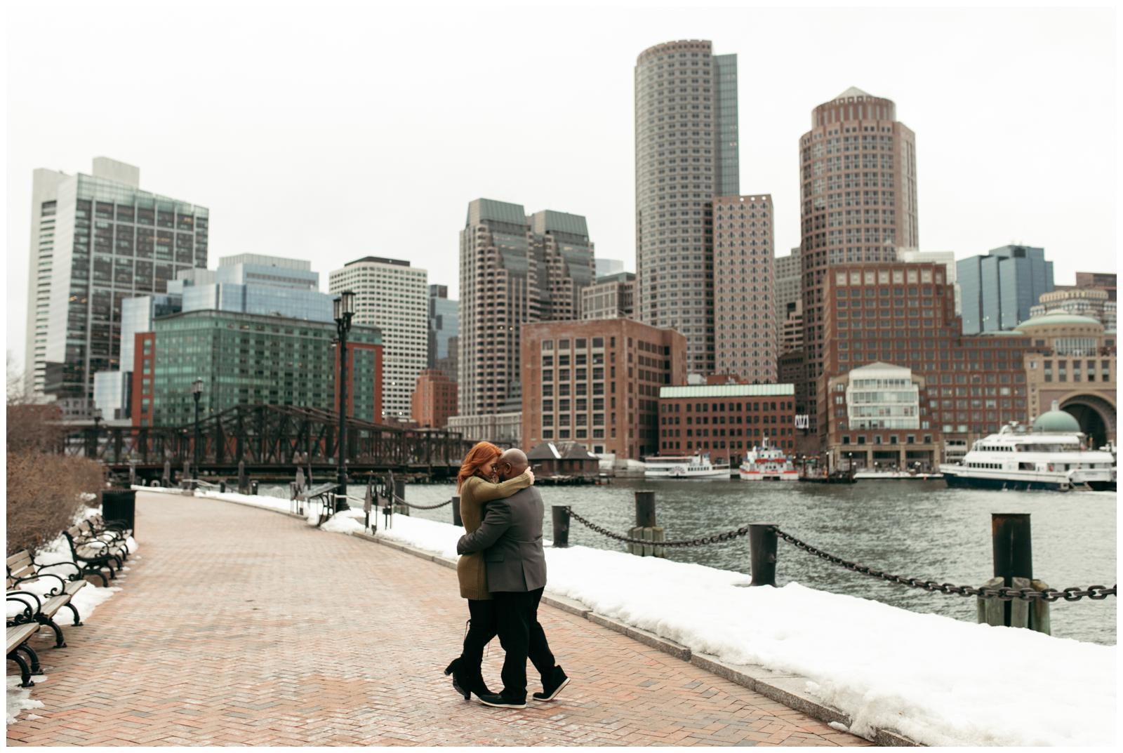 outdoor proposal location Boston