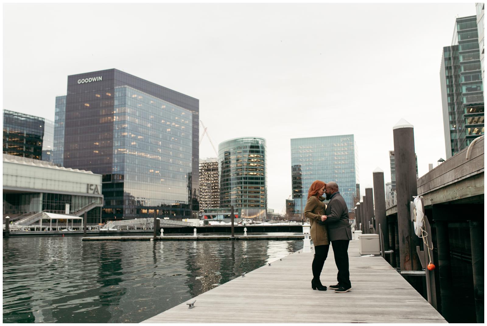 Seaport district Boston portraits