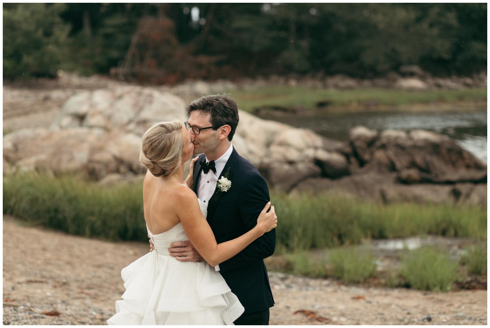 Coastal wedding portraits MA