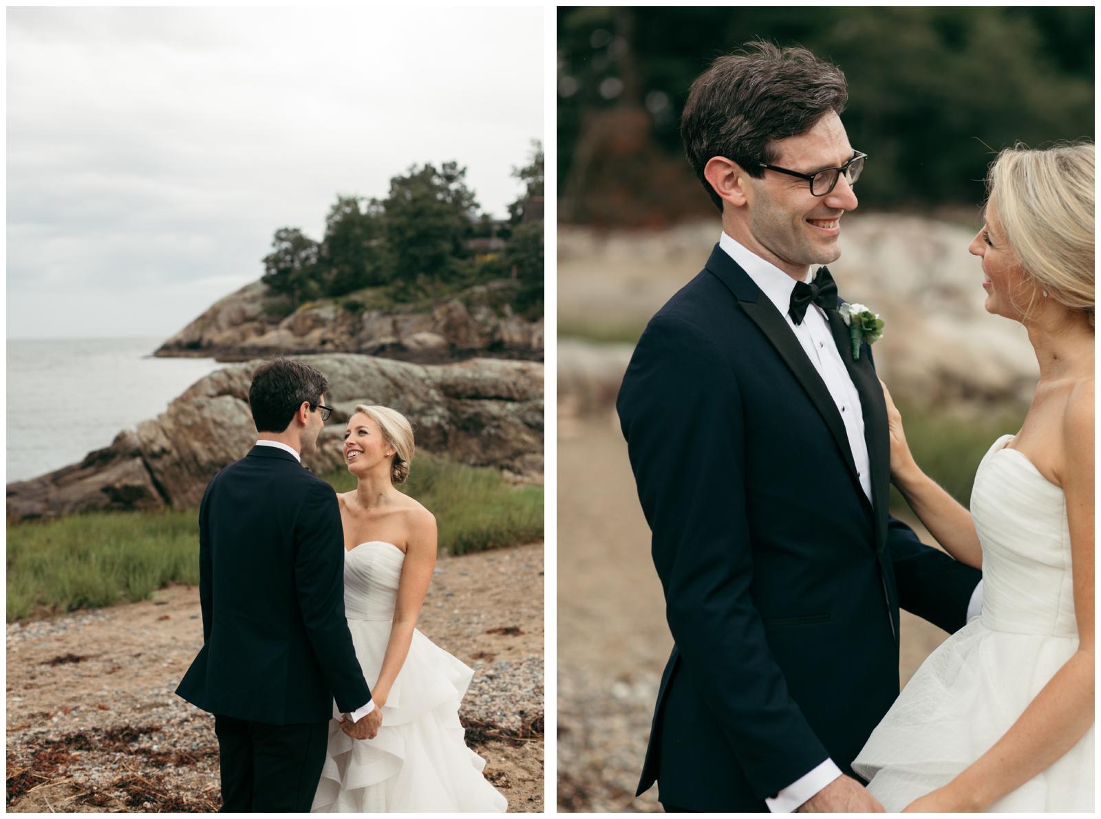 Wedding portrait locations North Shore