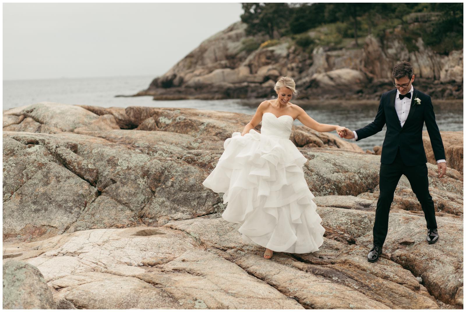 North shore wedding photos