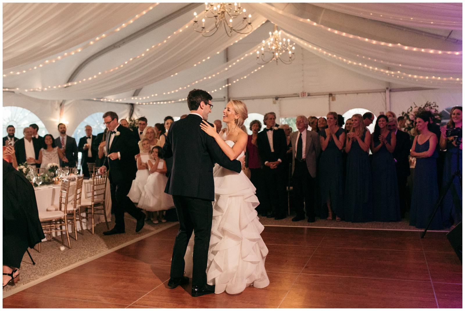 Massachusetts tent wedding venue
