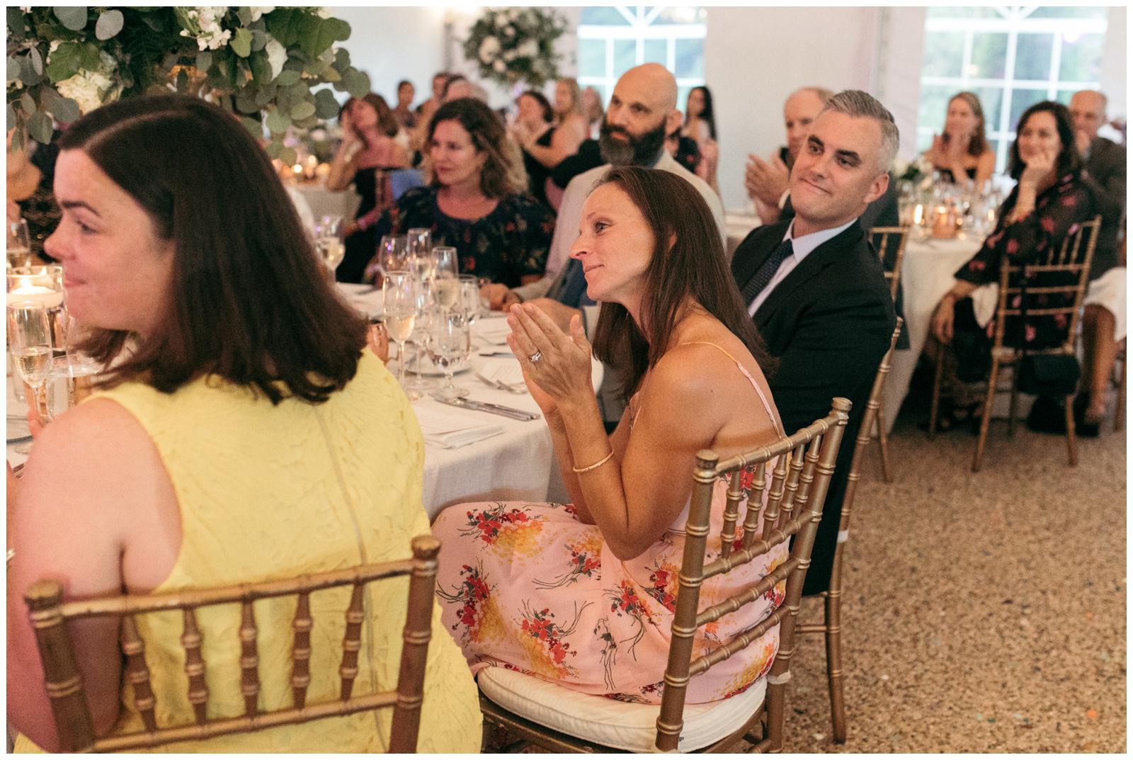 North shore tent wedding
