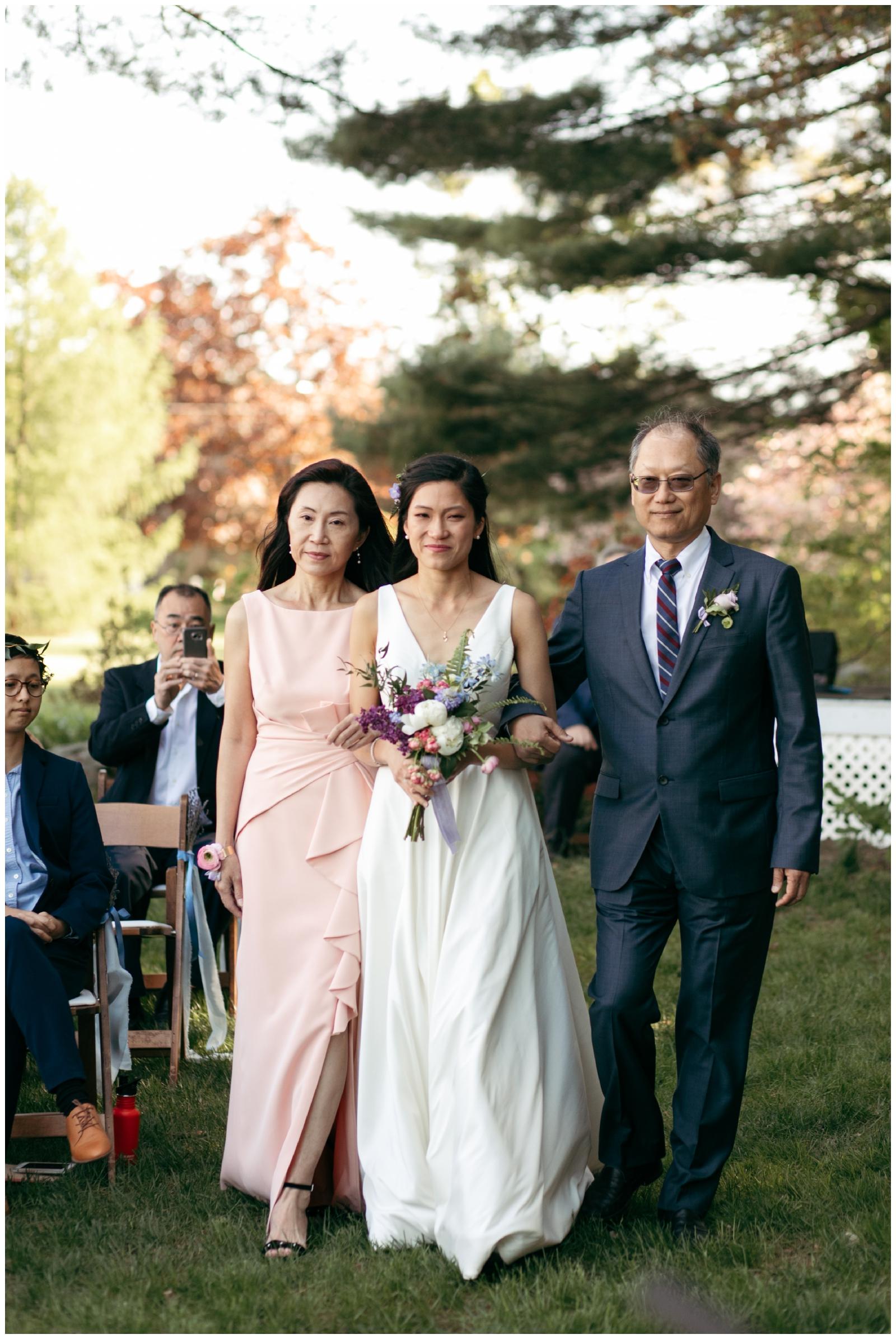 outdoor wedding location near Boston