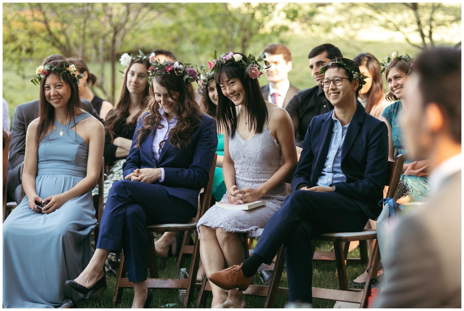 woodsy wedding Boston