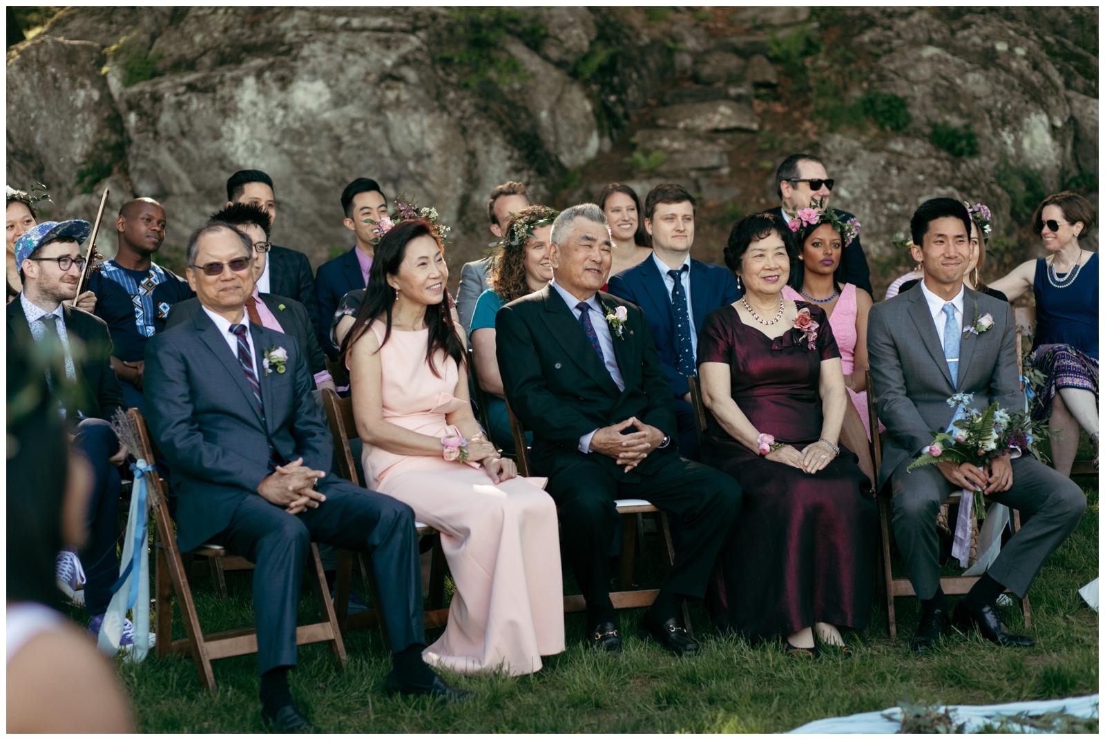 Friendly crossways retreat center wedding
