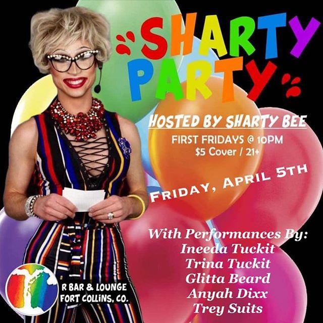 TONIGHT! Join @sharty_b @glittabeard @ineedatuckit @treysuits @trinatuckit and Anyah Dixx for a night of drag fun. ... $5 Cover Show at 10pm