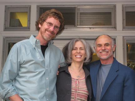 Jon, Eva and Steve at MRC
