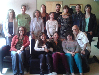 2012-2014 Two Year BP & GT trainees with Eva and Steve
