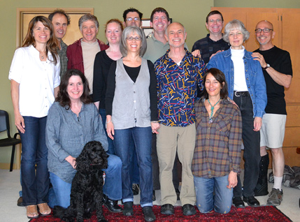 2012-2013 Advanced GT trainees with Eva, Steve and Metta