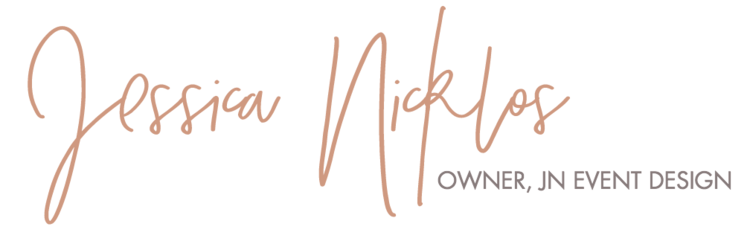 JN Event Design Jessica Nicklos Blog
