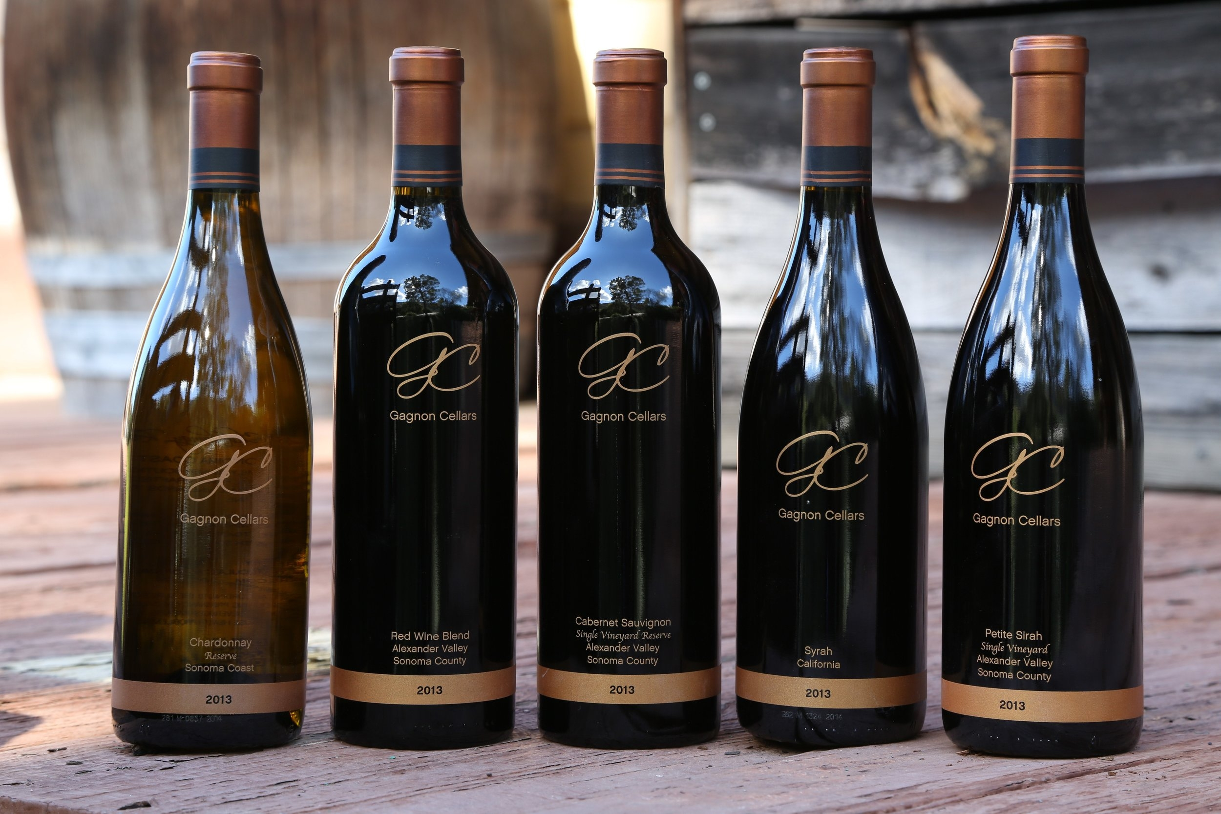 Order Gagnon cellars award winning wines!