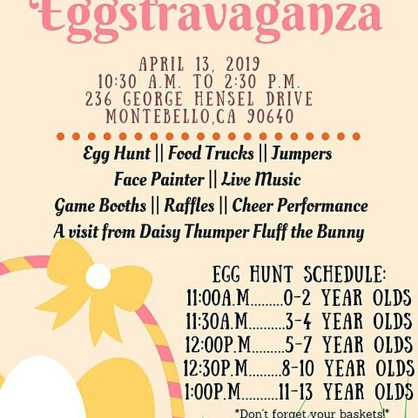 #headsup  # egg hunt #streetstopapp  #thestreetstop  #foodtrucklife  #lafoodtrucks  #LAeats  #streetfood  #orderahead  #skiptheline  #linkinbio  #freeapp . #Repost @thebigcheesetrucksocal (@get_repost) ・・・ Today we will be spending the day Easter egg hunting 🐰 at the City of Montebello's Eggstravaganza 🥚