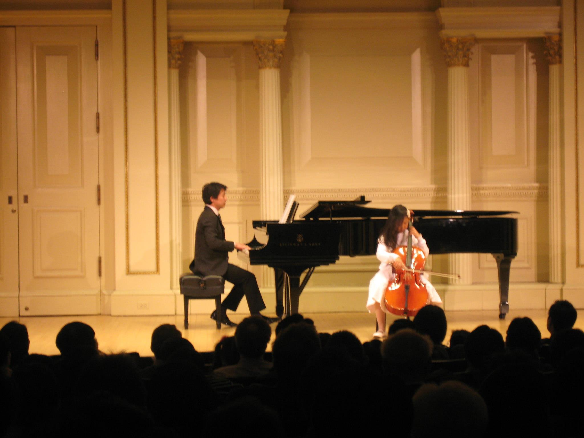 Sophia at Carnegie Hall