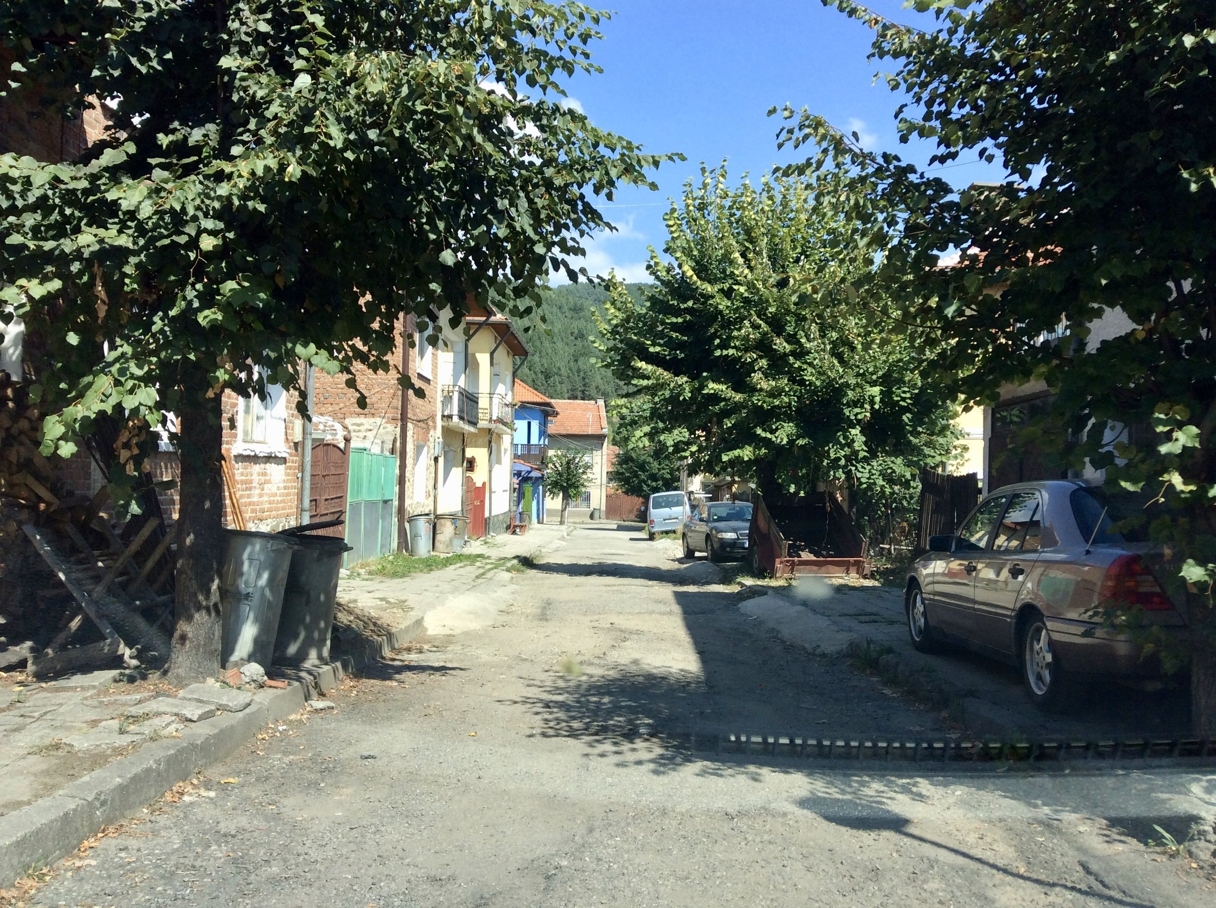 Driving Through Belitsa, Bulgaria