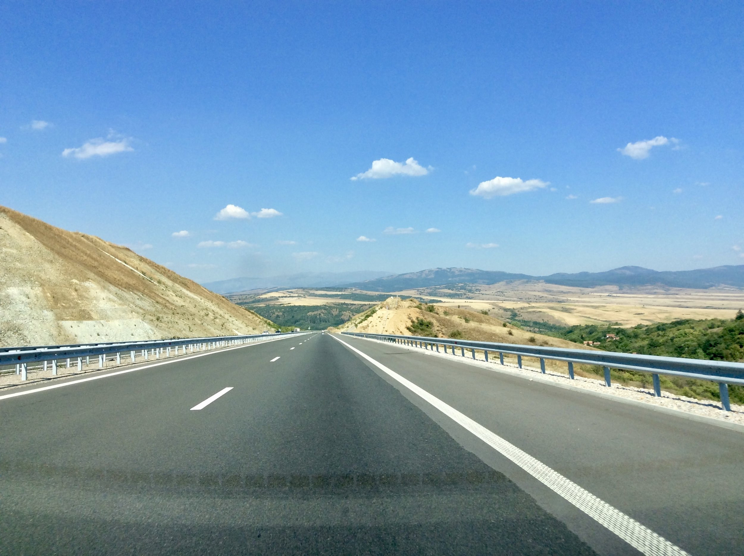 Super smooth Bulgarian Highway
