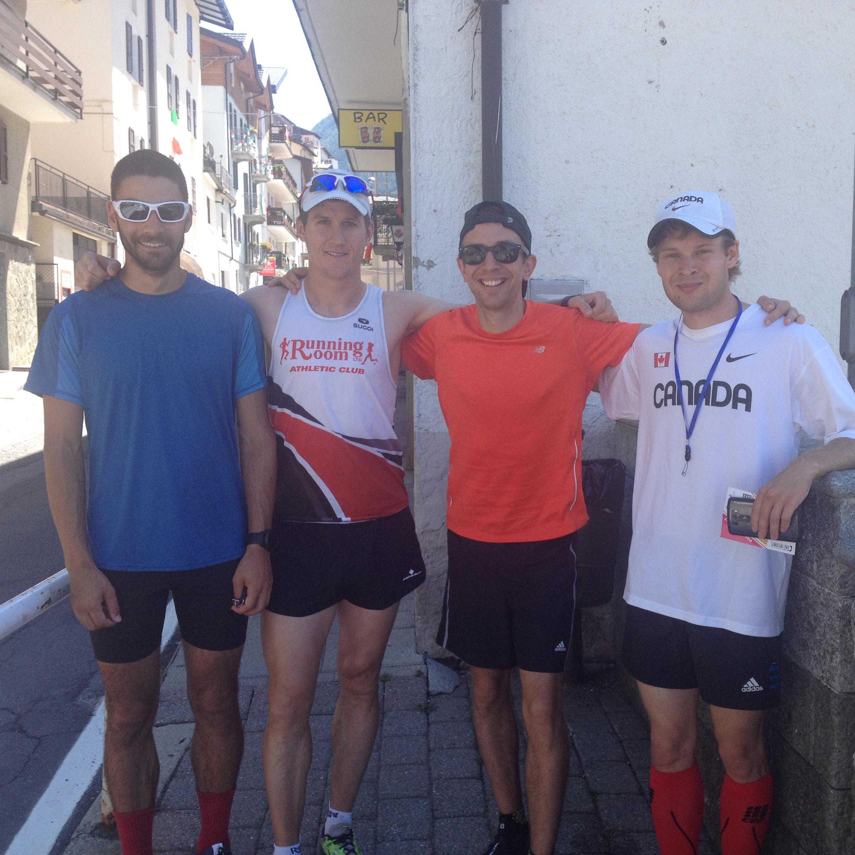 MattT, MattS, Allan and Gareth