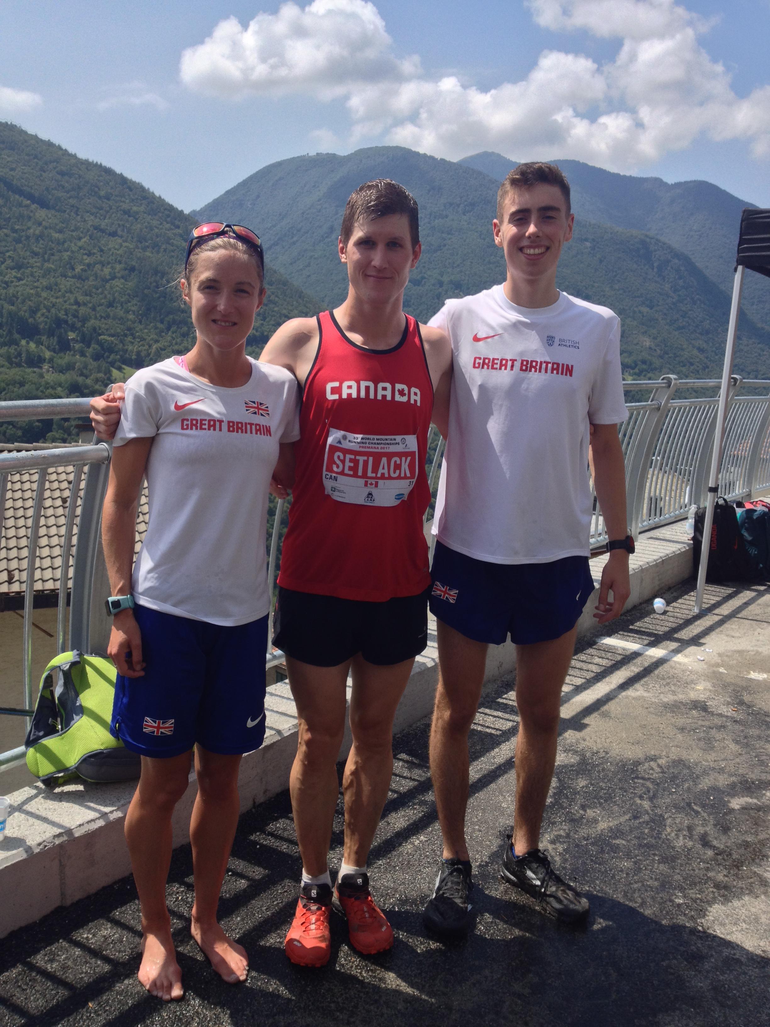 Sarah Tunstall, Matt Setlack and Joe Steward