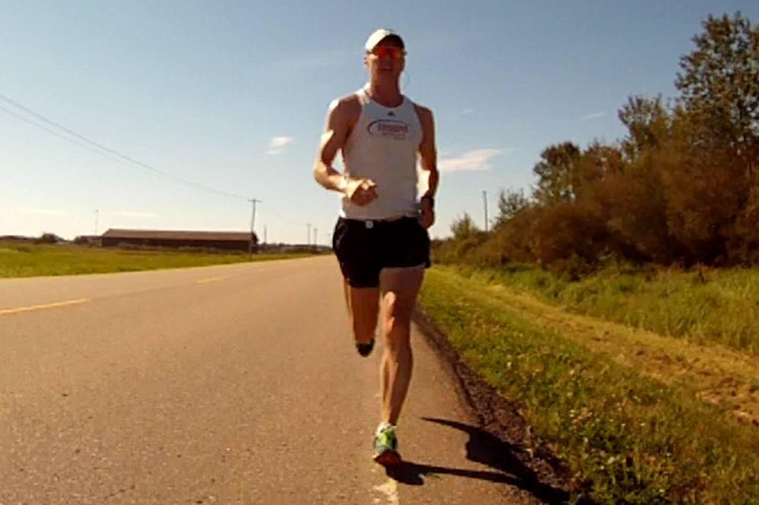 Running north on Range Rd 423.