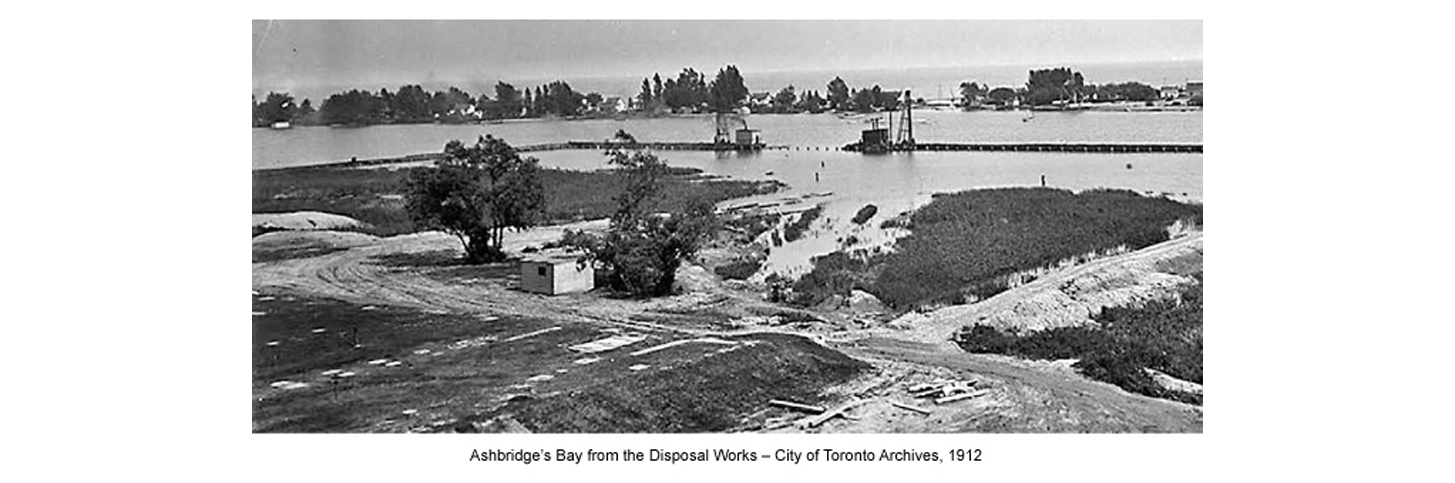the beaches history ashbridge's bay.png