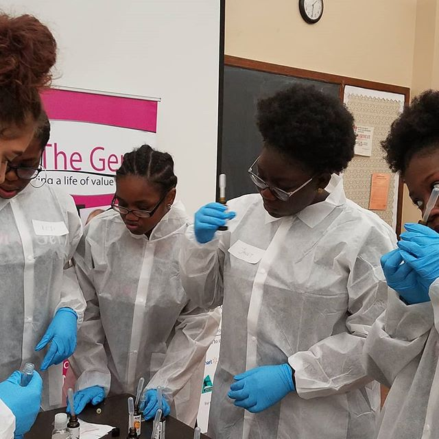 Reminiscing on our STEAM/Entrepreneurship camp few months ago with our girls as we celebrate the International day of women and girls in Science.